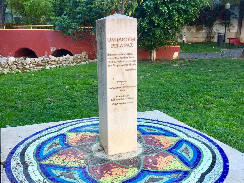 Um jardim pela paz
