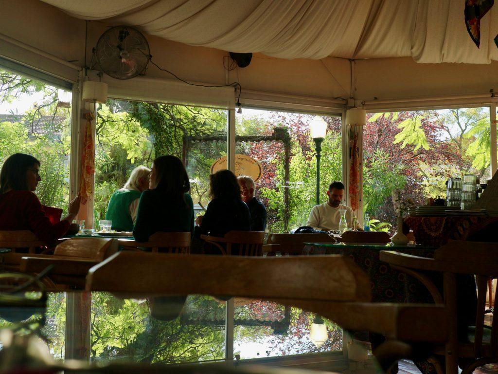 Innenraum vom Vegetarischen Restaurant PSI