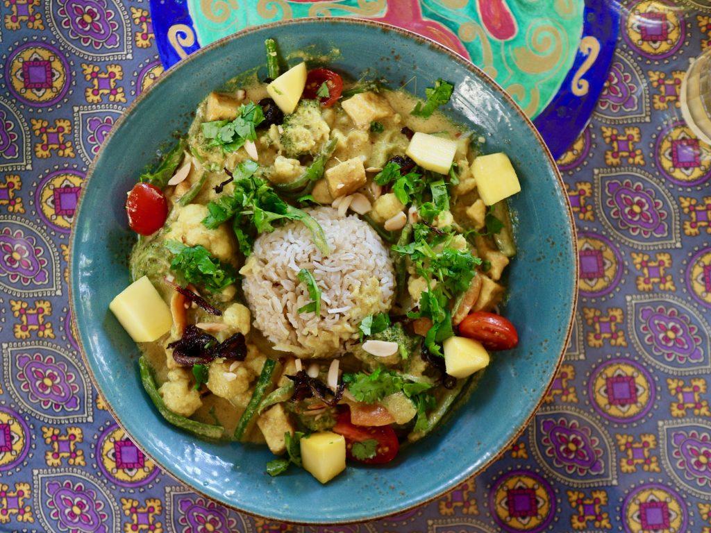 Hauptgericht vom Vegetarischen Restaurant PSI
