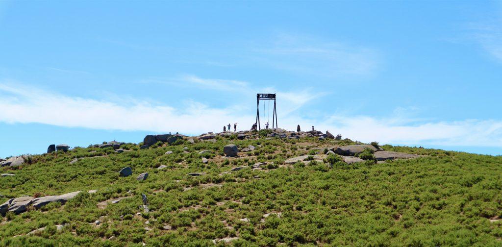 Die Riesenschaukel an der Porta do Mezio