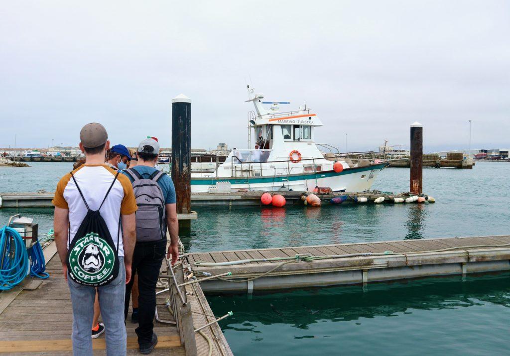 Im Hafen von Peniche