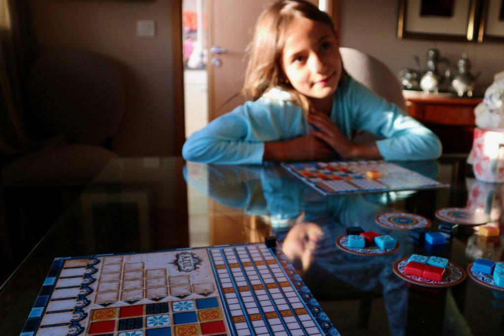Brettspiel über Azulejos: Azul