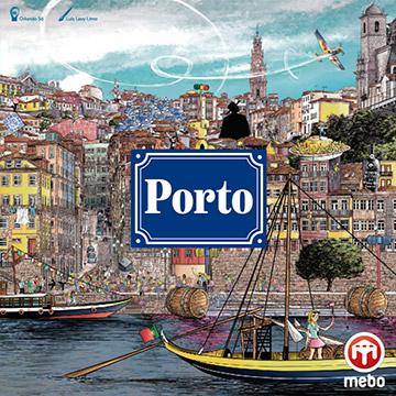 Das Brettspiel Porto vom Mebo Verlag.