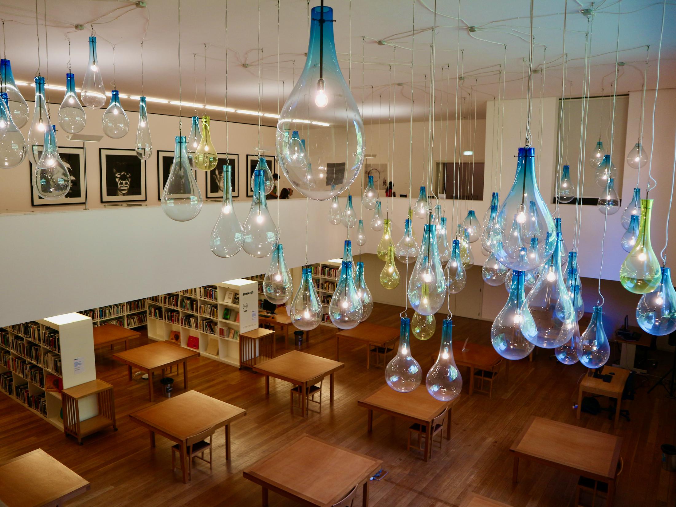 Parque de Serralves - Bibliothek